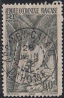 Afrique Occidentale Française - Abomey-Calavi / Dahomey Sur N° 28 (YT) N° 28 (AM). Oblitération. - Oblitérés