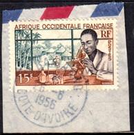 Afrique Occidentale Française - M'Bahiakro / Côte D'Ivoire Sur N° 48 (YT) N° 48 (AM). Oblitération. - Oblitérés