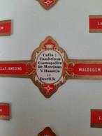 Sigarenband L&F Janssens Cafes Cambrinus Cosmopolite Deerlijk - Cigar Bands