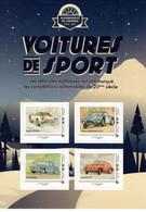 France 2019  -  Voitures De Sport  -  Lancia Stratos-Alpine Renault-Gordini-Porsche 911  - 4v S/a Feuillet Neuf/Mint/MNH - Automobili