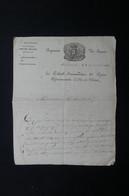 FRANCE - Lettre Du Colonel , Commandant La Légion  Départementale D'Ille Et Vilaine En 1815 - L 72177 - Documentos