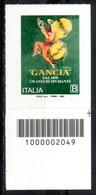 Italia 2020 - F.lli Gancia Codice A Barre MNH ** - Codici A Barre