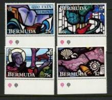"""Bermuda 1992 MNH """"Stained Glass Windows"""" - Bermudas"""