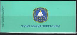 JO84/E6 - ALLEMAGNE FEDERALE Carnet C 1039 Neuf** Jeux Olympiques 1984 Gymnastique Ritmique - [7] Repubblica Federale