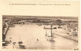 85 - SABLES D'OLONNE - Panorama Du Port - Vue Prise De La Chaume - Sables D'Olonne