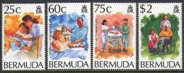 """-Bermuda-1994-""""Hospital Care"""" MNH (**) - Bermudas"""