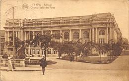 Spa - Kursaal - Grande Salle Des Fêtes - Ed. Flion - Spa