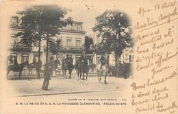 Spa : S.M. La Reine Et La Psse Clémentine - Palais De Spa - Spa