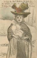 BOUTET   Petite Fille Au Cerceau - Boutet