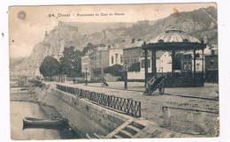 B-7867  DINANT : Promenade Du Quai De Meuse - Dinant