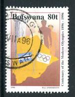 Botswana 1996 Centenary Of Modern Olympics - 80t Value Used (SG 830) - Botswana (1966-...)