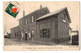 04737-LE-59-Aniche-La Gare Du Chemin De Fer Du Nord - Otros Municipios