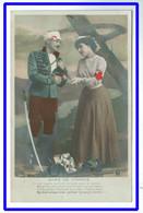 26125  CPA  DAME DE FRANCE ! Le Bléssé Appoorte Des Fleurs  ! ACHAT DIRECT !! - Rotes Kreuz