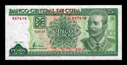Cuba 5 Pesos Antonio Maceo 2001 Pick 116d SC UNC - Cuba