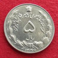 Iran 5 Rials 1968 / 1347 KM# 1176 Lt 745  Irão Persia Persien Rial - Irán