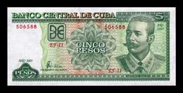 Cuba 5 Pesos Antonio Maceo 2003 Pick 116f SC UNC - Cuba