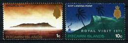 Islas Pitcairn Nº 96a (filigrana Derecha)-117 (sobrecarga) Nuevo - Stamps