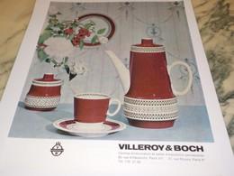ANCIENNE PUBLICITE  SERVICE RUBIN VILLEROY BOCH I 1963 - Advertising