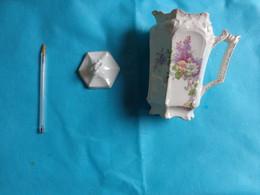 Verseuse Avec Couvercle  Porcelaine - Unclassified