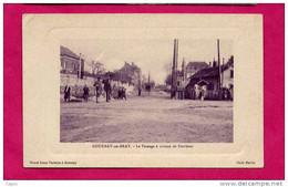 GOURNAY EN BRAY - LE PASSAGE A NIVEAU DE FERRIERES - Gournay-en-Bray