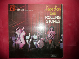 LP33 N°6135 - L' AGE D' OR DES ROLLING STONES -  VOL.6 - 278018 - MADE IN LONDON - VENDU EN ETAT - Rock