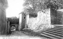 LA ROCHE SUR FORON UNE ANCIENNE PORTE (2) - La Roche-sur-Foron