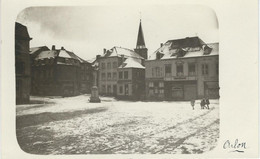 ARLON : Grand'Place - TRES RARE CARTE PHOTO - Aarlen