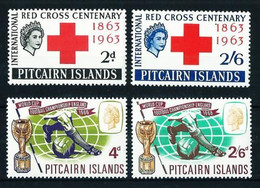 Islas Pitcairn Nº 36/7-59/60 Nuevo Cat.28€ - Stamps