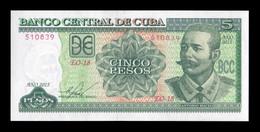 Cuba 5 Pesos Antonio Maceo 2015 Pick 116o SC UNC - Cuba