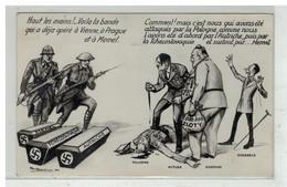SATIRE POLITIQUE #16322 GUERRE HITLER GOERING GOEBBELS POLOGNE MEMEL - Satirical