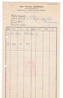 Document 1935 The TEXAS COMPANY, 7 Place Vendôme, Paris - Frankreich