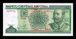 Cuba 5 Pesos Antonio Maceo 2017 Pick 116 New SC UNC - Cuba