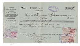 Document Timbré 1916 R. PALLOT, Notaire, Béziers - Frankreich