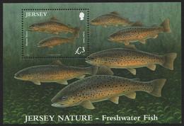 Jersey 2010 - Mi-Nr. Block 89 ** - MNH - Fische / Fish - Jersey