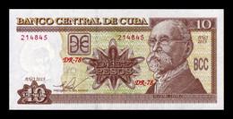 Cuba 10 Pesos Máximo Gómez 2015 Pick 117q SC UNC - Cuba