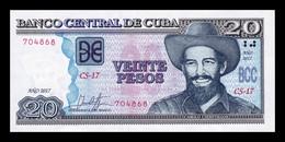 Cuba 20 Pesos Camilo Cienfuegos 2017 Pick 122 New SC UNC - Cuba