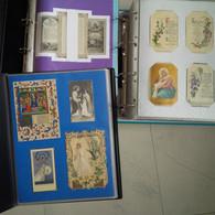 BELLE COLLECTION D ENVIRON 600 CANIVETS ET IMAGES PIEUSES 1850 1950 SALON BIBLIOMANIA OU MULHOUSE - Devotion Images