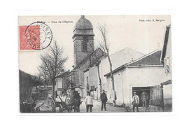 52 - MELAY : Rue De L' Eglise, Attelage, - France