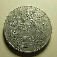 Guiné-Bissau 20 Pesos 1977 Bad Grade - Guinea Bissau