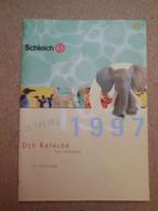 SCHTROUMPFS, SMURFS, Grand Catalogue Schleich édition 1997, Figurines Schtroumpfs Et Autres - Werbeobjekte