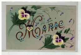 PRENOM #16336 MARIE FAIT MAIN CELLULOID - Vornamen