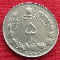 Iran 5 Rials 1966 / 1345 KM# 1175a Lt 724  Irão Persia Persien Rial - Irán