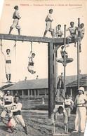 Thème Sport  .    Gymnastique  Tirailleurs Tonkinois A L'école     (Voir Scan) - Gymnastics