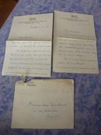 RTF RADIODIFFUSION-TELEVISION FRANCAISE ENVELOPPE  LETTRE A ENTETE 2 LETTRES MANUSCRITES JEAN THEVENOT 1965 - Autogramme & Autographen
