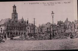 10440   14  18  ST QUENTIN ECRITE - Oorlog 1914-18