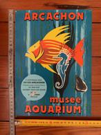 Affiche Arcachon  Aquarium Musee - Afiches