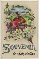 Metz-Sablon- Souvenir De Metz-Sablon (Corne D'angle Haut Et Bas à Gauche, Pliure Bas à Droite, Voir Scan) (CPA) - Sonstige Gemeinden