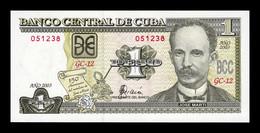 Cuba 1 Peso Commemorative 150th Anniversary Birth Of José Martí 2003 Pick 125 SC UNC - Cuba