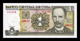 Cuba 1 Peso José Martí 2016 Pick 128g SC UNC - Cuba