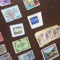 INGHILTERRA REGINA VERDE ORO 1 VALORE - Stamps